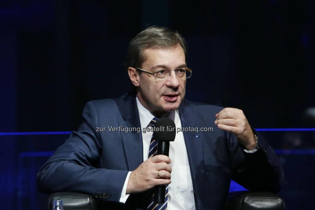 Axel Greiner (Industriellenvereinigung OÖ-Präsident) (16.12.2014)