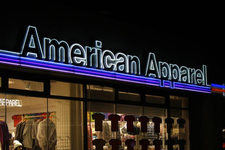 American Apparel, Berlin 2014 <a href=http://www.shutterstock.com/gallery-320989p1.html?cr=00&pl=edit-00>360b</a> / <a href=http://www.shutterstock.com/editorial?cr=00&pl=edit-00>Shutterstock.com</a>