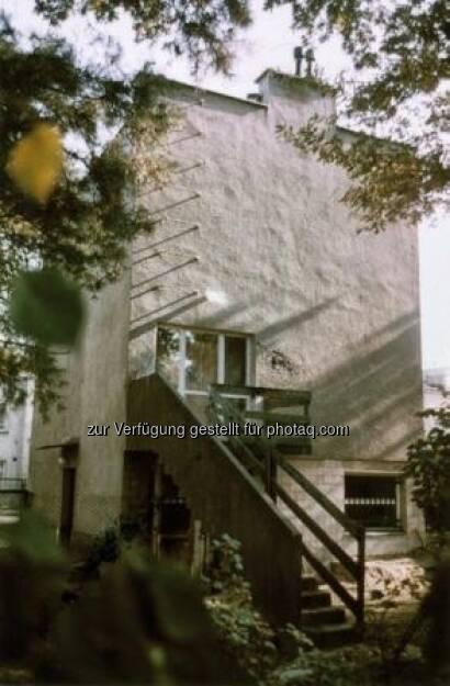 Weißer Kubus, Haus für seine Eltern, Warschau, um 1934, Foto: Tadeusz Barucki, Warschau, © (VIG beigestellt) (09.02.2013)