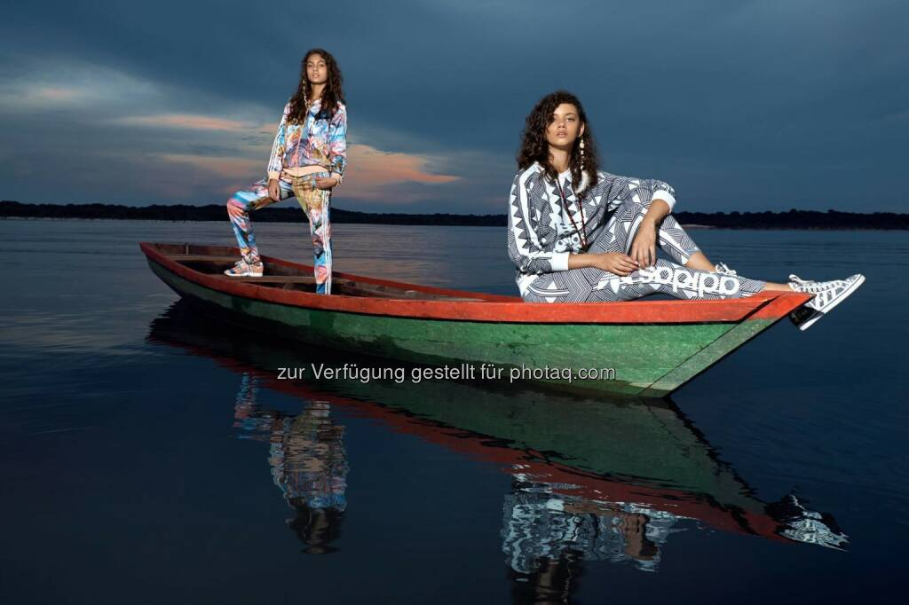 adidas: It's time to return to the wild.  Inspired by the Amazon River, the new adidas Originals by adoro FARM collection drops Jan. 1st at http://a.did.as/6181vneb  Source: http://facebook.com/adidas, © Aussendung (22.12.2014)