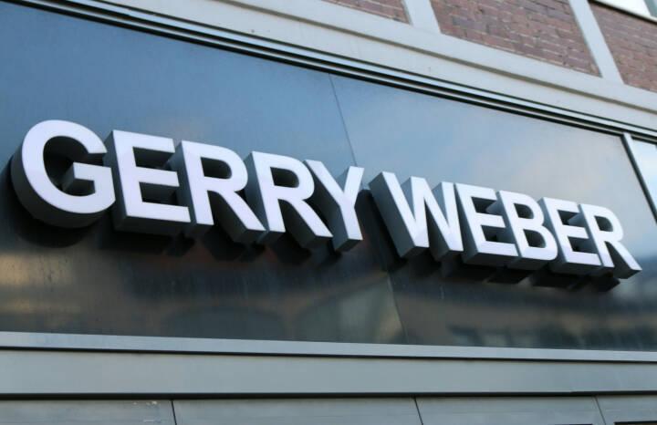 Gerry Weber, Logo <a href=http://www.shutterstock.com/gallery-320989p1.html?cr=00&pl=edit-00>360b</a> / <a href=http://www.shutterstock.com/editorial?cr=00&pl=edit-00>Shutterstock.com</a>