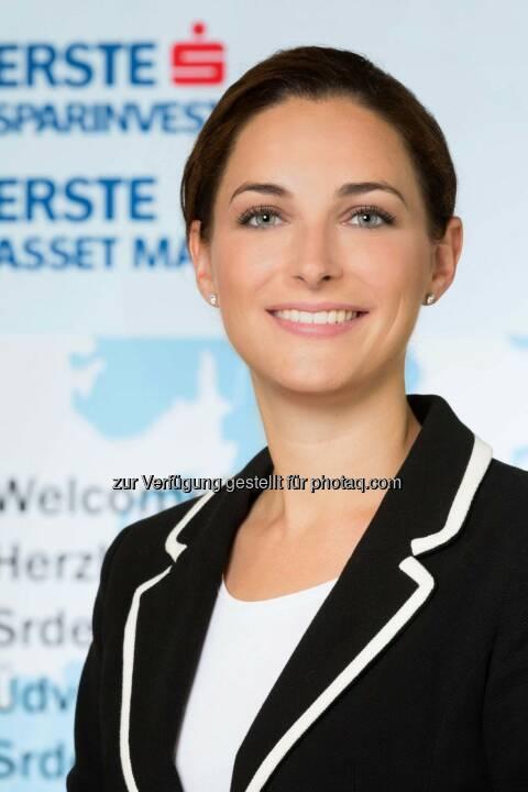 """Magdalena Arnezeder übernimmt die Leitung der Rechtsabteilung der Erste Asset Management und der Erste-Sparinvest (""""Legal Services"""")."""