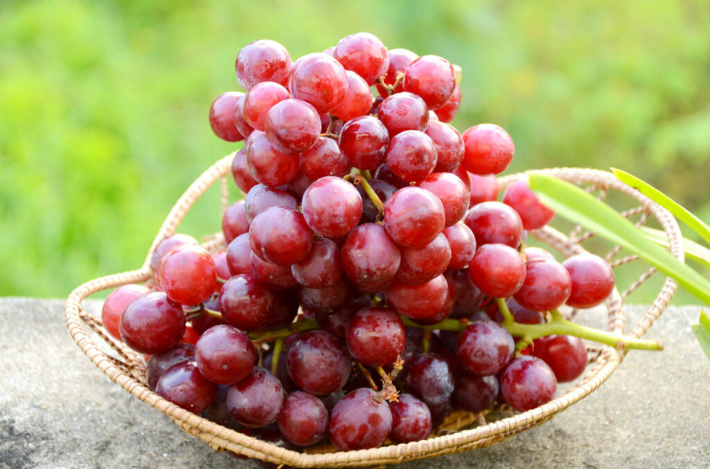 Weintrauben, rote Weintrauben, Superfruits, http://www.shutterstock.com/de/pic-112038134/stock-photo-seedless-purple-grape.html, © www.shutterstock.com (24.12.2014)