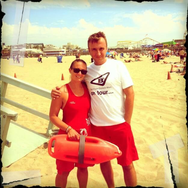 Herbert Gmoser, bestevent: Bermuda Dreieck Wien, Santa Monica Beach, Los Angeles, Californien, Baywatch …. (25.12.2014)