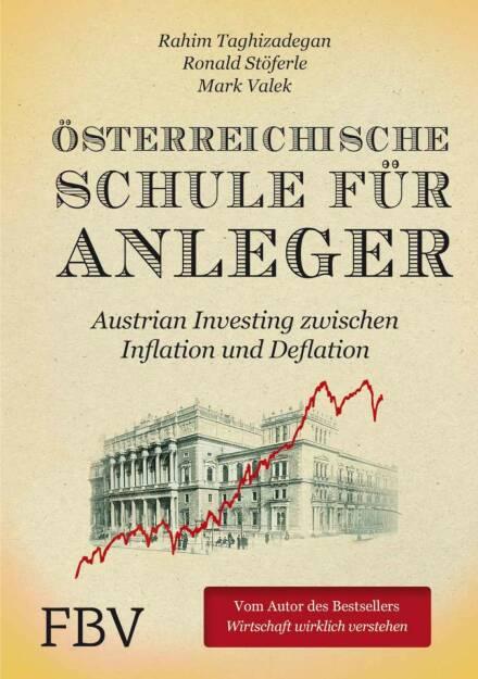 """Ronald Stöferle: Eindeutig das Cover unseres Buches…das 1. Buch zum Thema """"Austrian Investing"""" und gleich ein Bestseller in Ö, CH und GER!! (27.12.2014)"""