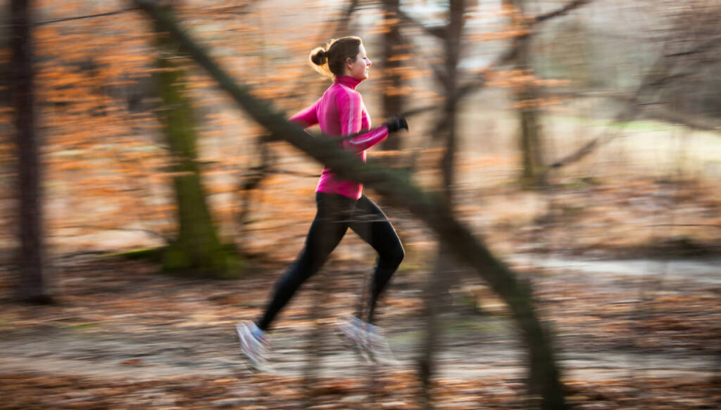 Laufen, Läuferin, Frau, Winter, Herbst, Wald, Runplugged, http://www.shutterstock.com/de/pic-229058452/stock-photo-young-woman-running-outdoors-in-a-city-park-on-a-cold-fall-winter-day-motion-blurred-image.html, © www.shutterstock.com (27.12.2014)