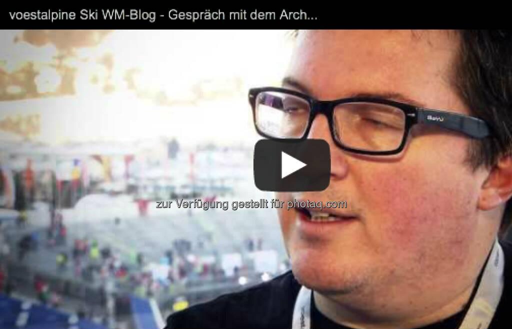 Gespräch mit dem Architekten des voestalpine-Skygate, Gernot Ritter - http://voestalpine-wm-blog.at/2013/02/10/das-voestalpine-skygate-ein-portrait-des-neuen-wahrzeichens/#.UReXkI7aK_Q - mehr Fotos vom Skygate http://finanzmarktfoto.at/page/index/208, &copy; <a href=