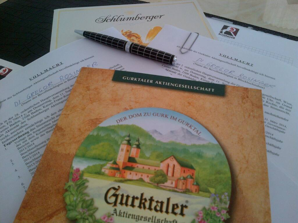 Gregor Rosinger: Bye Bye Schlumi – Gurki, Dir bleib ich treu (28.12.2014)