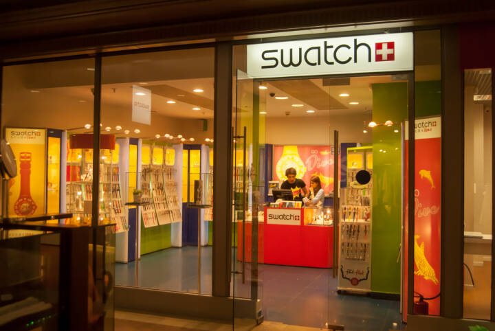 Swatch store <a href=http://www.shutterstock.com/gallery-1489708p1.html?cr=00&pl=edit-00>Romas_Photo</a> / <a href=http://www.shutterstock.com/editorial?cr=00&pl=edit-00>Shutterstock.com</a>