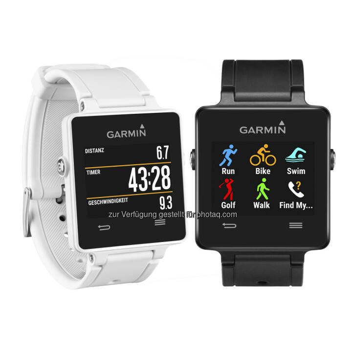 Garmin Austria GmbH: vívoactive(TM) und vívofit(TM) 2 - fit und smart ins neue Jahr: Garmin vivoactive - neue fitnessorientierte Smartwatch von Garmin.