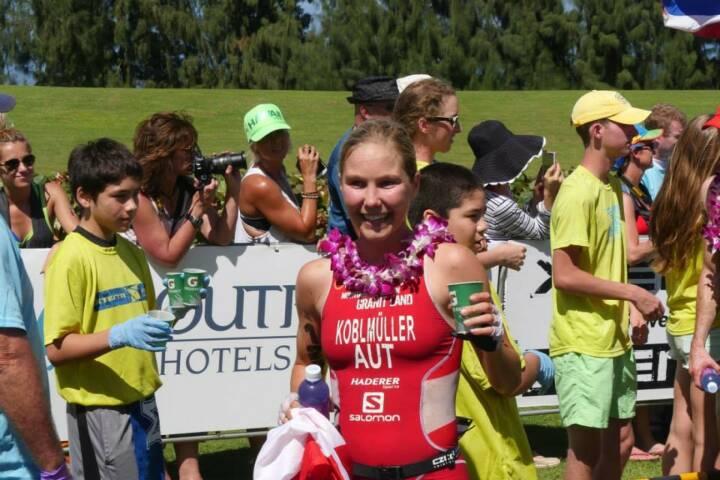 Sandra Koblmüller, Crosstriathlon Staatmeisterin Österreich, in Maui, Hawaii  -  mit freundlicher Genehmigung von http://www.facebook.com/sandra.koblmueller © Schaedle Media