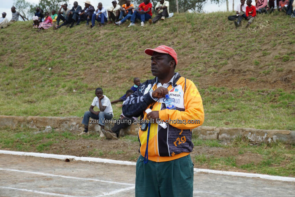 Joseph Karatu Ngure, Headcoach Run2gether, © Run2gether (07.01.2015)