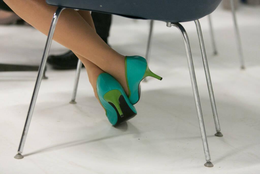 Cornelia Dankl (Bonus Vorsorgekasse AG): Meine eigenen Schuhe :-) (08.01.2015)