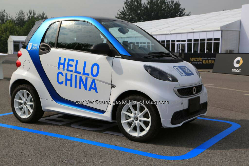 Ji Xing: car2go kommt nach China, © Aussendung (08.01.2015)