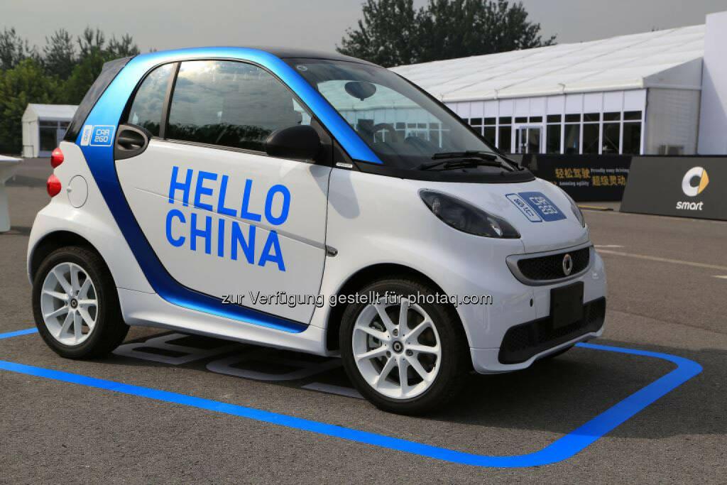 Ji Xing: car2go kommt nach China, © Aussendung (08.01.2015)
