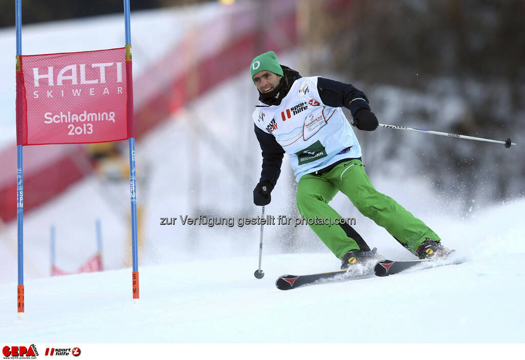 Lorenz Luginbuehl (Team Deichmann). Foto: GEPA pictures/ Christian Walgram, © GEPA/Sporthilfe (10.02.2013)