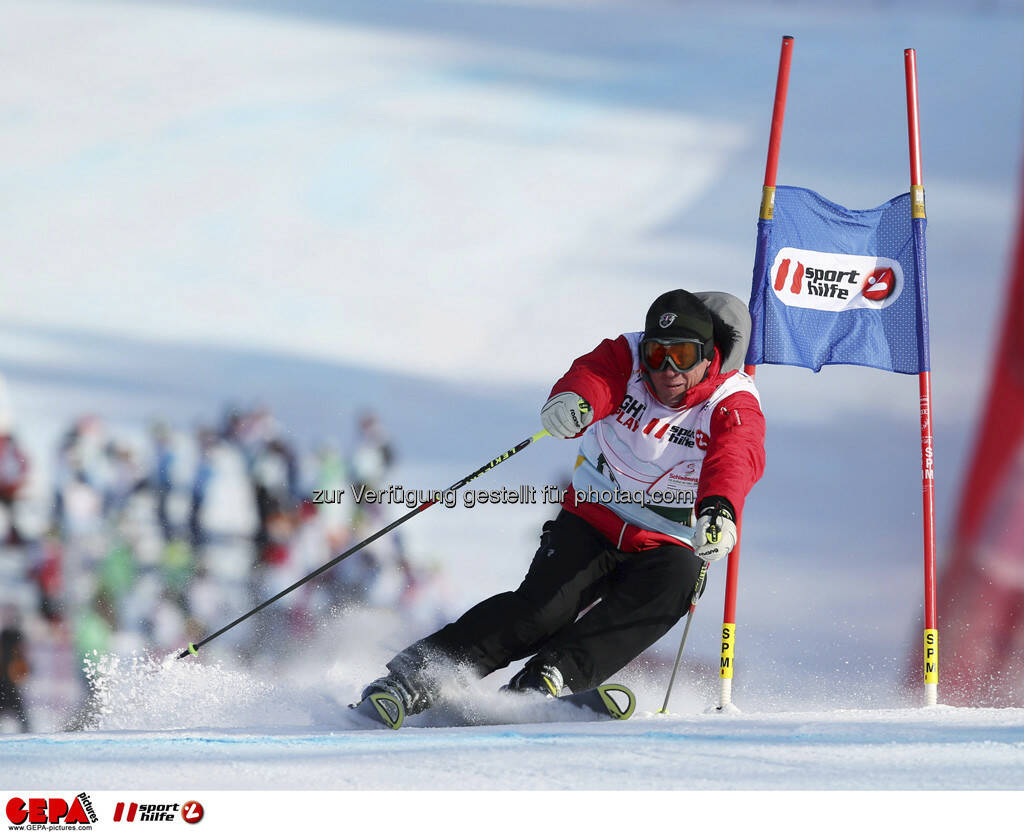 Harti Weirather (Team Goesser). Foto: GEPA pictures/ Wolfgang Grebien, © GEPA/Sporthilfe (10.02.2013)