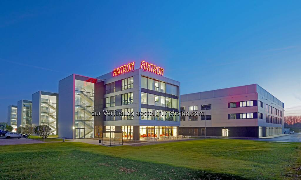 Aixtron R&D Center in Herzogenrath/Aachen, Germany (Quelle: http://www.aixtron.com/en/press/media-center/downloads/ ), © Aussender (13.01.2015)