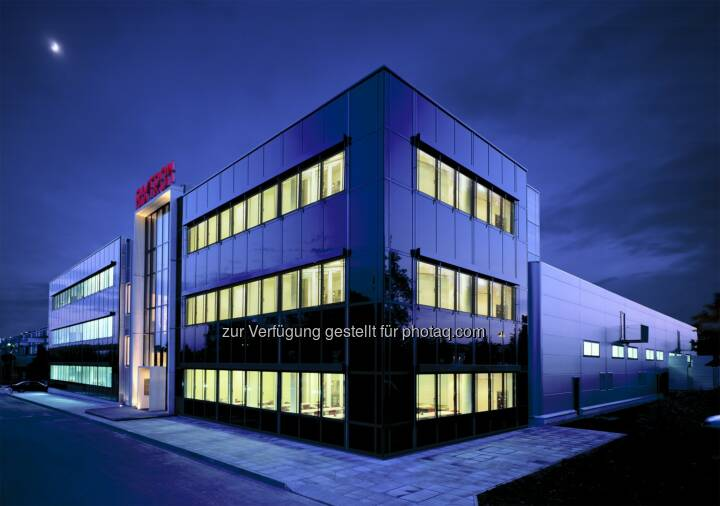 Aixtron Production and Headquarters in Herzogenrath/Aachen, Germany (Quelle: http://www.aixtron.com/en/press/media-center/downloads/ )