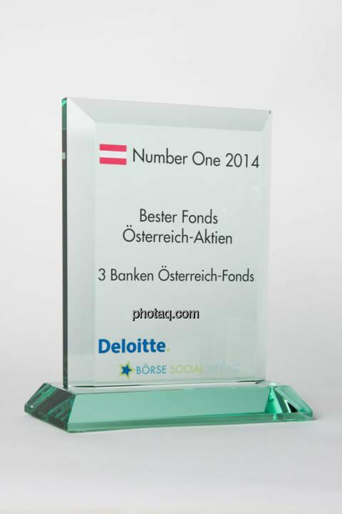 Bester Fonds Österreich-Aktien: 3 Banken Österreich-Fonds