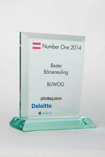 Bester Börseneuling: Buwog, © photaq/Martina Draper (13.01.2015)