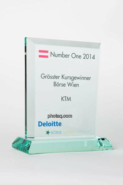 Grösster Kursgewinner Börse Wien: KTM, © photaq/Martina Draper (13.01.2015)