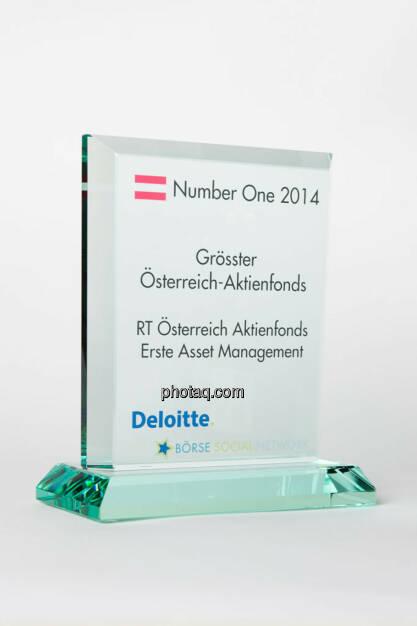 Grösster Österreich-Aktienfonds: RT Österreich Aktienfonds Erste Asset Management, © photaq/Martina Draper (13.01.2015)