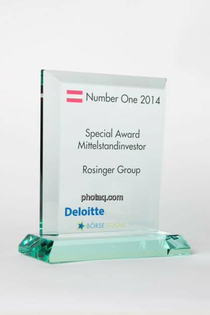Special Award Mittelstandinvestor: Rosinger Group, © photaq/Martina Draper (13.01.2015)