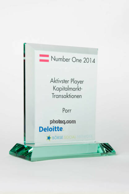 Aktivster Player Kapitalmarkt-Transaktionen: Porr, © photaq/Martina Draper (13.01.2015)