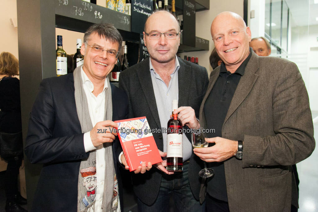 Manfred della Schiava, Leonhard Specht, Ralph Vallon, © Arman Rastegar (15.01.2015)