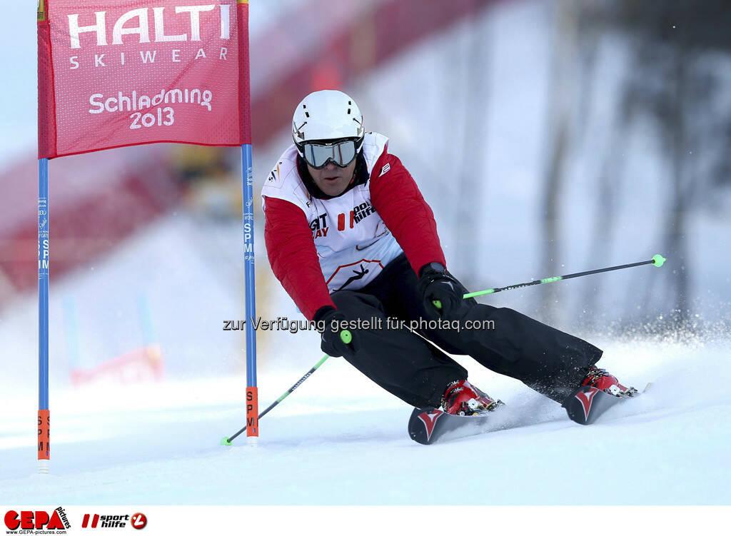 Rudi Huber (Team OESV). Foto: GEPA pictures/ Christian Walgram, © GEPA/Sporthilfe (10.02.2013)