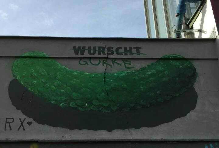 Wurscht Gurke Wurst