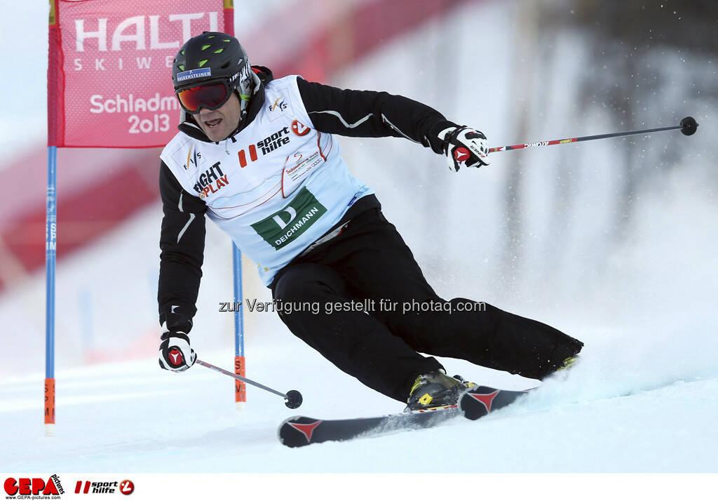 Armin Assinger (Team Deichmann). Foto: GEPA pictures/ Christian Walgram, © GEPA/Sporthilfe (10.02.2013)