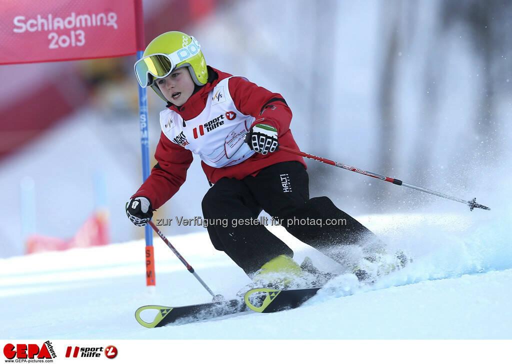 Mariella Schwarz (Team OESV). Foto: GEPA pictures/ Christian Walgram, © GEPA/Sporthilfe (10.02.2013)