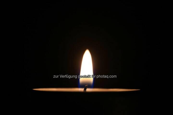 Kerze, Tod