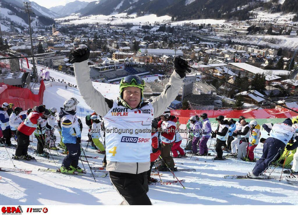 Didier Cuche. Foto: GEPA pictures/ Hans Simonlehner, © GEPA/Sporthilfe (10.02.2013)