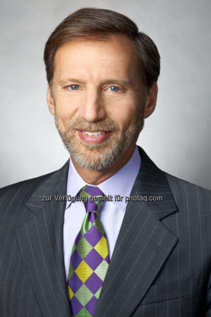 Peter Kraus (Chairman und CEO von AllianceBernstein Holding L.P.): der Mutterkonzern von AB Europe GmbH – hat heute seinen neuen globalen Markenauftritt vorgestellt (Bild: AB), © Aussender (20.01.2015)