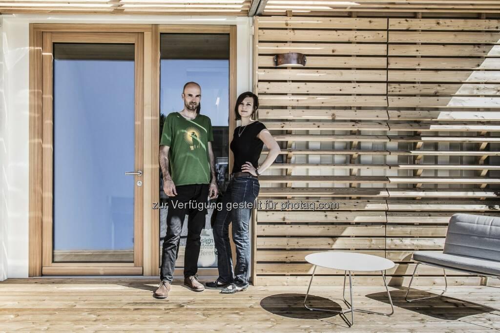 Das Grazer Start-Up Commod-Haus sammelte auf der Crowdinvesting-Plattform Green Rocket in nur 50 Minuten 20.550 Euro, in 2h 45min wurde die Funding-Schwelle von 25.000 Euro überschritten. Mittlerweile konnten 33.350 Euro gesammelt werden (Stand: 20.01.2015, 11.30 Uhr), das Fundinglimit liegt bei 150.000 Euro. Zwei Monate lang kann noch investiert werden. (Bild: Tamara Frisch/ Commod-Haus) (20.01.2015)