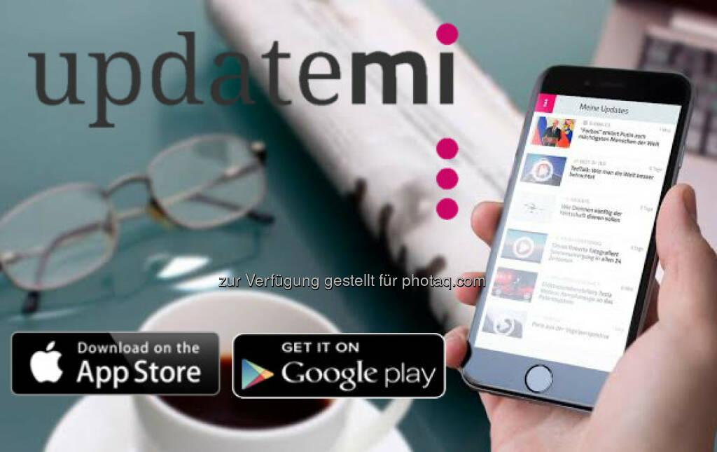 Phönix New Media GmbH: Updatemi: Neue News-App revolutioniert das Konsumieren von Nachrichten. (21.01.2015)