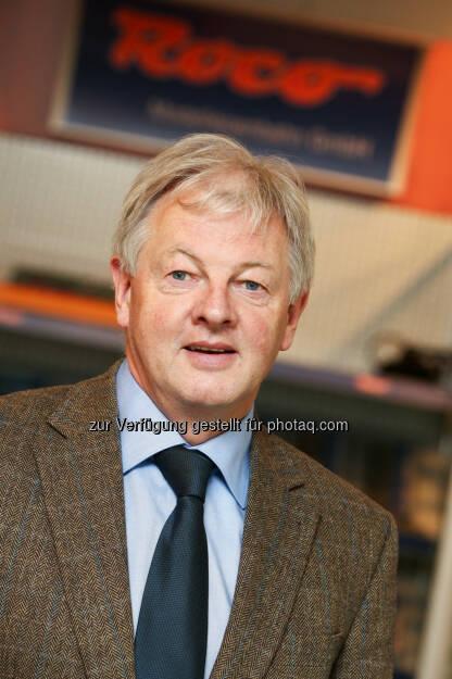 Leopold Heher, CEO Modelleisenbahn Holding GmbH: Neue Produktschiene in den Markt gebracht, © Aussender (21.01.2015)