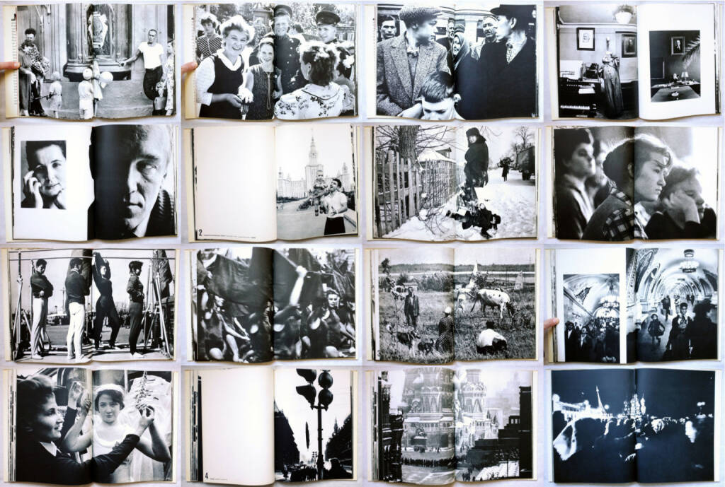 William Klein - Moskau, Nannen-Verlag 1965, Beispielseiten, sample spreads - http://josefchladek.com/book/william_klein_-_moskau, © (c) josefchladek.com (21.01.2015)