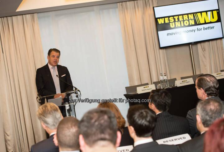 Hikmet Ersek, President and CEO Western Union: European Business Forum und Compliance-Konferenz