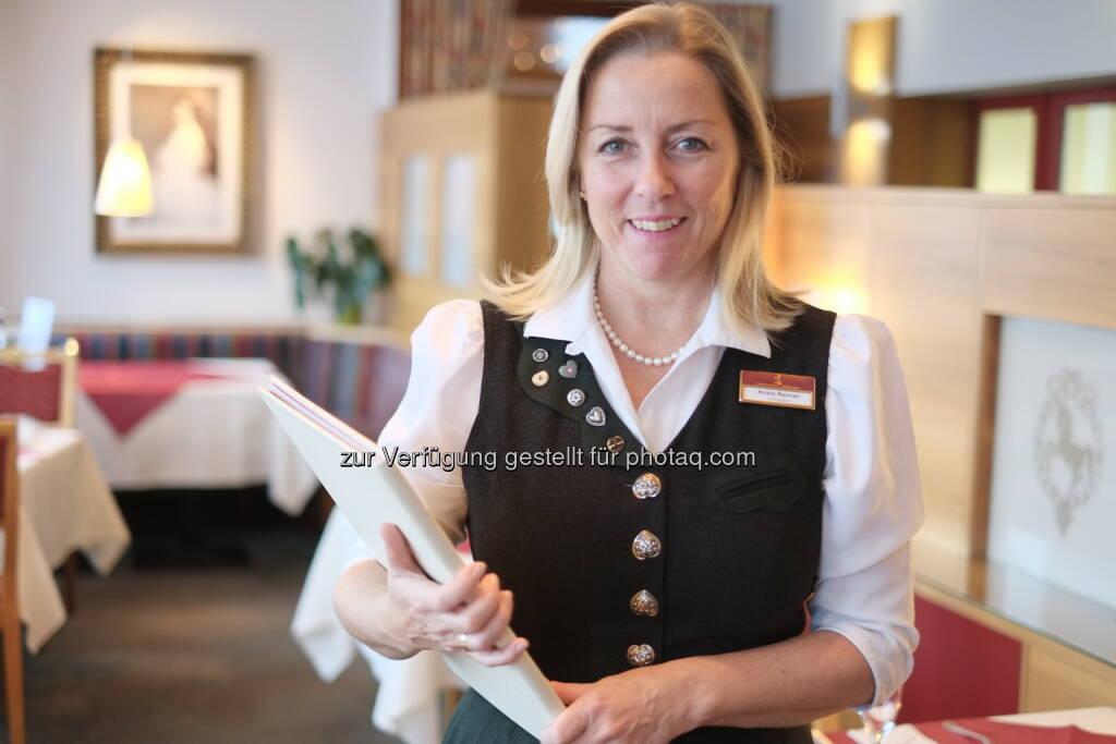 Krista Reimair neue Resident Managerin: Prodinger|GFB Hotel Tourismus Consulting: Weisses Rössl am Wolfgangsee: , © Aussender (22.01.2015)