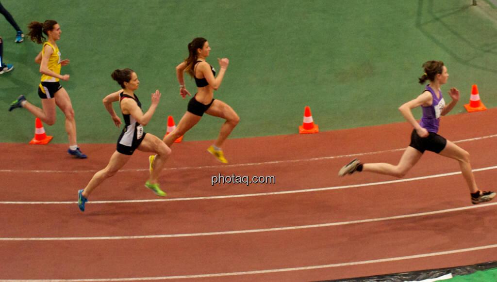 Rennen Laufen Leichtathletik vier (24.01.2015)