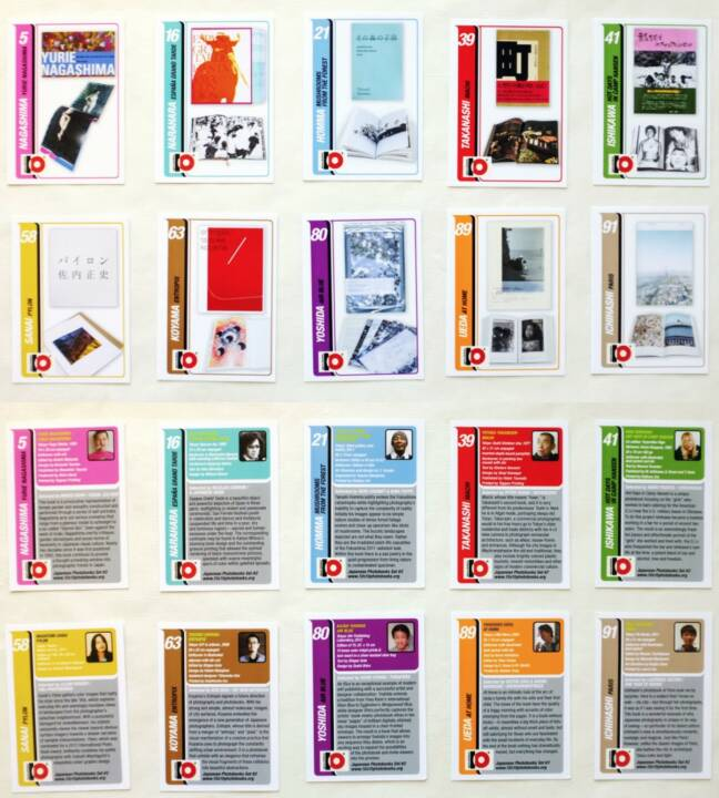 10x10 Japanese Photobooks Trading Cards - Set #2, 10x10 Photobooks / ICP 2014, Cards, http://josefchladek.com/book/10x10_japanese_photobooks_trading_cards_-_set_2