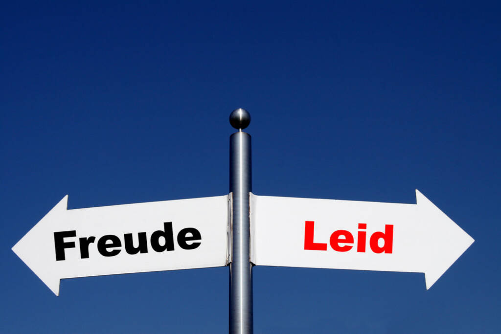 Gegenteil, Freude, Leid, Freud und Leid, http://www.shutterstock.com/de/pic-202819066/stock-photo-arrows-with-the-german-words-freud-leid-translation-happiness-sorrow.html, © www.shutterstock.com (25.01.2015)