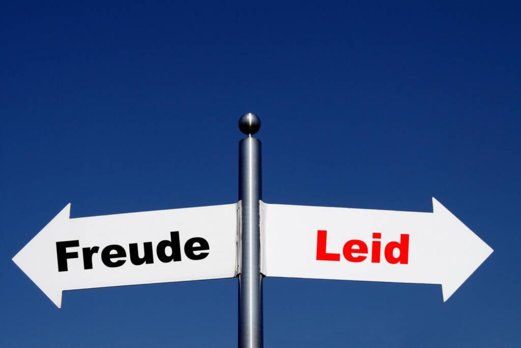 Gegenteil, Freude, Leid, Freud und Leid, http://www.shutterstock.com/de/pic-202819066/stock-photo-arrows-with-the-german-words-freud-leid-translation-happiness-sorrow.html, © www.shutterstock.com (25.01.2015)