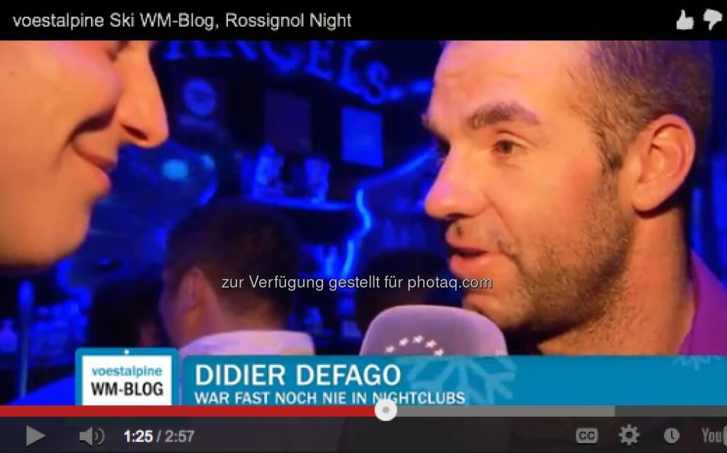 Didier Defago - Rossignol feiert und alle sind dabei - http://voestalpine-wm-blog.at/2013/02/12/rossignol-feiert-und-alle-sind-dabei/#.URpanY7aK_Q, &copy; <a href=