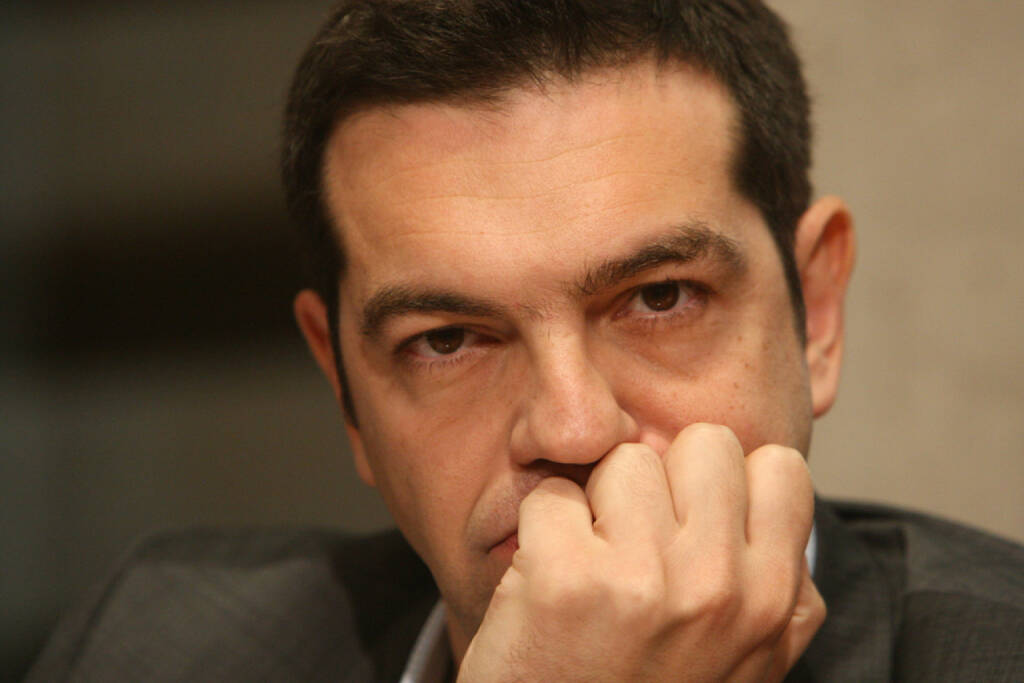 Alexis Tsipras, Syriza, Griechenland,<a href=http://www.shutterstock.com/gallery-712843p1.html?cr=00&pl=edit-00>thelefty</a> / <a href=http://www.shutterstock.com/editorial?cr=00&pl=edit-00>Shutterstock.com</a>, thelefty / Shutterstock.com, © shutterstock.com/eigene Bilder (26.01.2015)