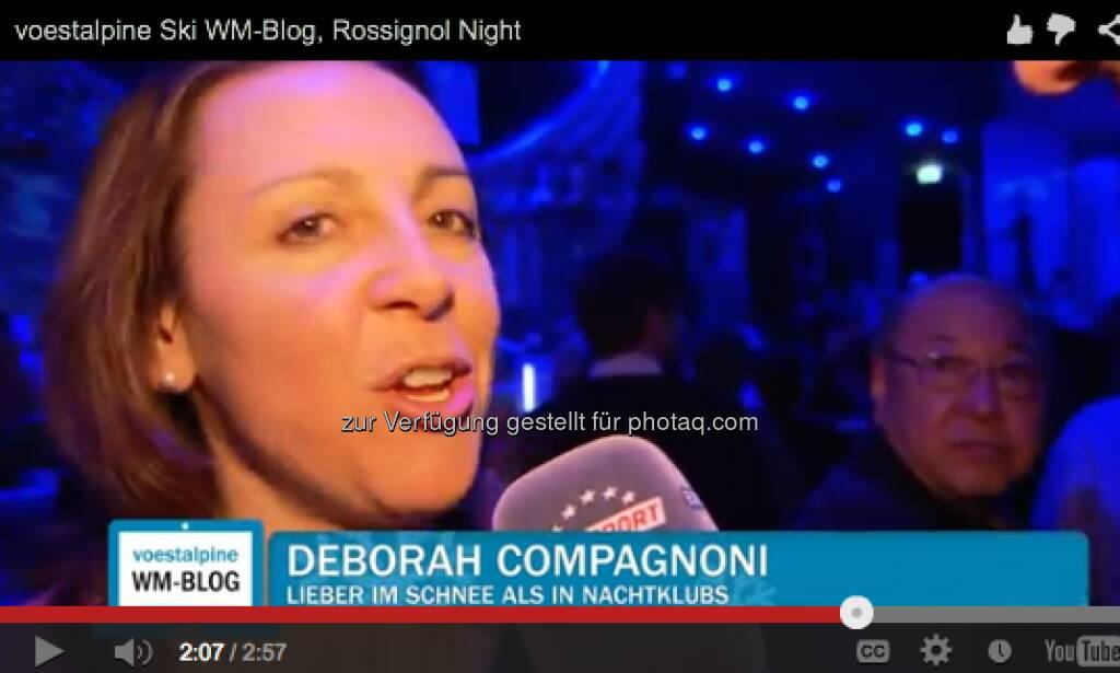Deborah Compagnoni - Rossignol feiert und alle sind dabei - http://voestalpine-wm-blog.at/2013/02/12/rossignol-feiert-und-alle-sind-dabei/#.URpanY7aK_Q, &copy; <a href=